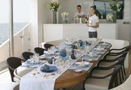 Dinner Cruise on a Yacht for Rent in Dubai image